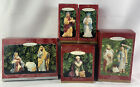 Hallmark Holy Family 8 Piece Set Blessed Nativity Collection 1998 2000 Ornament