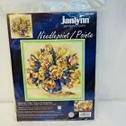 Watercolor Tulips Needlepoint Kit Janlynn 023 0497 14 x 14 Sealed from 2007