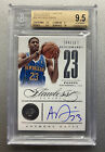 2012 FLAWLESS ANTHONY DAVIS BENCHMARKS AUTO RC #28 BGS 9.5 GEM MINT # 10 LAKERS