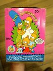 🔥 1990 Topps The Simpsons Trading Cards Box 36 Sealed Wax Packs