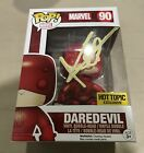 Marvel Daredevil 90 Funko Pop Signed By Charlie Cox Netflix Hot Topic Exclusive