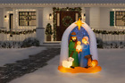65 ft Nativity Scene Christmas Holiday outdoor yard decor Inflatable Airblown