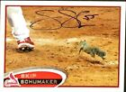 Autographed 2012 Topps Rally Squirrel Skip Schumaker Card #93 SP (short print)