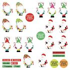 Photoplay Paper Tulla  Norberts Christmas Party Cardstock DieCut Sheet Gnomie