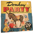 Rare 1940s Whitman Pin the Tail on Donkey Party Game 3015 COMPLETE Make An Offer