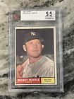 1961 Topps Mickey Mantle 300 BVG 5.5