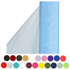 54 Wide x 40 yards Sheer Organza Fabric Bolt For Arts And Crafts 27 colors