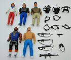 1983 A-Team Toy Lot loose action figures accessories Galoob Mr. T BA Amy Allen