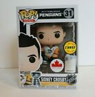 Funko POP Hockey Sidney Crosby Canada Exclusive Figure Rare Chase with Cup NHL