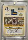 2004-05 Skybox Authentix Carmelo Anthony Game-Used Auto Autograph Patch 10
