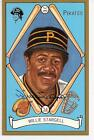 WILLIE STARGELL AUTOGRAPHED PITTSBURGH PIRATES CARD 38 PEREZ STEELE MASTER WORK