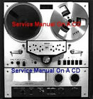 AKAI GX-266D STEREO TAPE DECK SERVICE MANUAL ON CD SAME DAY SHIPPING