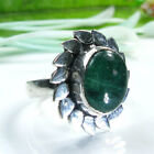Beautiful fashion green Aventurine silver 925 ring   ! Gift Jewelry and Love