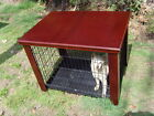 Wood Dog Crate Table Fit Folding 30 Pet Cage Furniture