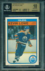 BGS 10 1982 83 OPC #113 KEVIN LOWE 2ND YEAR PRISTINE!!!