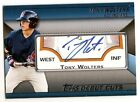 2011 Topps Pro Debut Tony Wolters Cut Auto 95