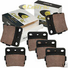 Brake Pads for Honda TRX250X TRX 250 X Fourtrax 1987-1992 Front Rear Brakes