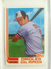 1982 Topps Traded Baseball #98T Cal Ripken Rookie RC N MINT CONDITION