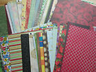 100 SHEETS OF PRINTED 12X12 SCRAPBOOKING PAPER NEW