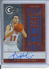 Andy Rautins 2010-11 Totally Certified Rookie Jersey Auto Red 99 New York Knick