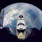 Russian Mir Space Station STS 71 Space Shuttle Atlantis 8X12 PHOTOGRAPH
