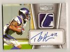 2010 Unrivaled Percy Harvin Auto Logo Patch 100 Autograph