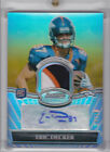 2010 Bowman Sterling Rookie Card Autograph Patch Eric Decker 24 25