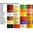 PEARSALL SILK THREAD  Great colors Available Fly Tying  Rod Building