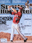 Bryce Harper Signed SI No Label Sports Illustrated Magazine JSA