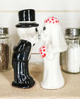 Magnetic Salt Pepper Shakers Collectibles Love Never Dies Skeleton Couple Kiss