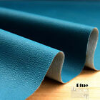 1 Meter 0.8mm (130x100cm) K1 Blue Pleather Faux Leather Sewing Fabric Free Ship