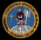 ORIGINAL COUNTERSPACE OPERATIONS MARVIN THE MARTIAN USAF DOD VELCRO SPACE PATCH
