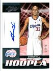 12 13 PANINI ABSOLUTE HOOPLA GRANT HILL AUTO 28 49 LOS ANGELES CLIPPERS