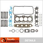 Fits 92 01 Suzuki Sidekick Esteem Tracker 16L SOHC Head Gasket Set Bolts G16KV
