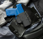 Walther PPS Black Leather Kydex Hybrid Gun Concealment Holster IWB Tuck