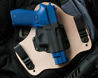 Leather Kydex Hybrid Gun Holster Sig Sauer P226 9 and 40 IWB Concealed Tuck