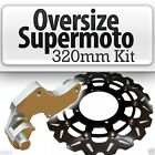 Rmz450 Rmz 450 Rm-z450 Front Brake Oversize Supermoto Disc Rotor 320mm+ Bracket