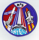 M 3 S TEST OPERATIONS SATELLITE SHUTTLE NON COMMERCIAL NASA SPACE PATCH
