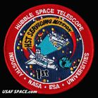 1st HST SERVICING MISSION HUBBLE SPACE TELESCOPE NASA INDUSTRY ESA PATCH
