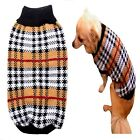 Dog Sweater Tartan XS S M L Coat Puppy Pet Boy Clothes Jacket Jumper Chihuahua