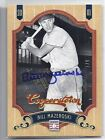 2012 Panini Cooperstown AUTO Bill Mazeroski PIRATES #d 7 9