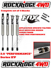 FOX IFP 2.0 PERFORMANCE Series Shocks 69-72 CHEVY Truck K10, 20, 30 w/ 4