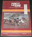 Paint Horse Journal March 1982 Racing Issue