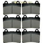 Front Rear Brake Pads for Yamaha XVZ1300 Royal Star 1300 Tour Classic 1996-2000