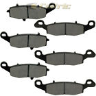 Front Rear Brake Pads for Kawasaki VN1600 Vulcan 1600 Nomad 2005-2008 Front Pads