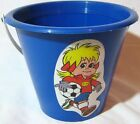 VTG 80'S SPORT BILLY PLASTIC BUCKET VERY RARE PERFECT FOR DISPLAY NEW A