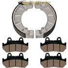 for Honda VT700C Shadow 700 1986 1987 Front Brake Pads & Rear Brake Shoes