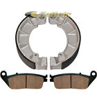 FRONT & REAR BRAKE PADS SHOES HONDA VT750C2F VT750C2 VT750D SHADOW SPIRIT 01-14