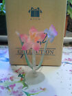 AVON GIFT COLLECTION Radiant Glass Flower Pink Amaryllis Avon NEW-SHIPS IN 1 DAY
