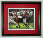 Alabama Football Daniel Moore The Catch print framed